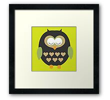 Sleeping owl  Framed Print