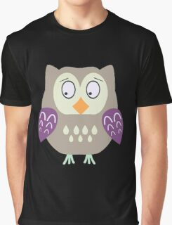 Sad  owl  Graphic T-Shirt