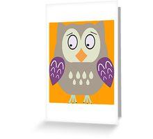 Sad  owl  Greeting Card
