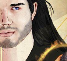 Dorian pavus romance tarot card Sticker