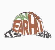 It's an ear hat John One Piece - Short Sleeve