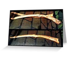 Letter Openers - Ivy & Horse Totems Greeting Card