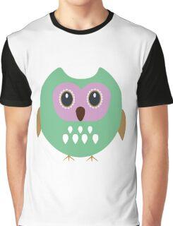 Green owl  Graphic T-Shirt