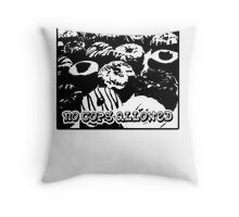 no cops allowed Throw Pillow