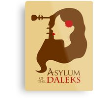 Asylum of the Daleks Metal Print