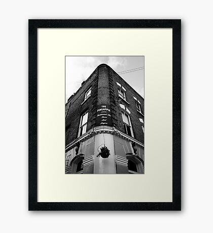 The Pineapple Pub Kentish Town London Framed Print