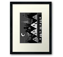 NY Boogie Nights Framed Print
