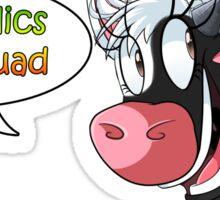 Fun Squad Cow Sticker