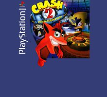 Crash Bandicoot 2 Playstation Box Art Shirt Unisex T-Shirt