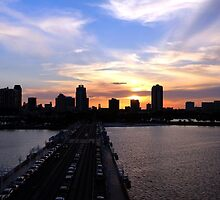 St. Petersburg FL Skyline - View from The Pier by Dani Gee Phokus & [x]Pose