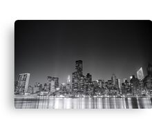 New York City Skyline - Night Canvas Print