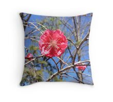 Jannie's Quince Throw Pillow