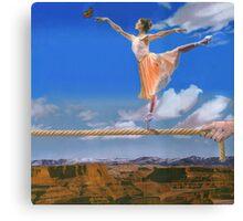 Rope Dancer Canvas Print