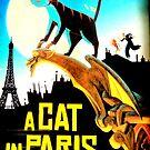 A CAT IN PARIS by Michael J Armijo