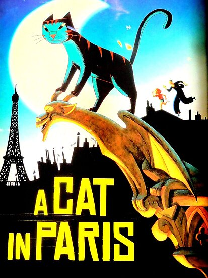 A CAT IN PARIS by Michael J Armijo