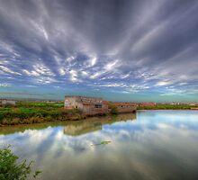 Fuzeta Lagoon by manateevoyager
