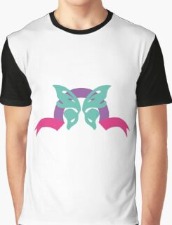 Butterfly ribbon Graphic T-Shirt