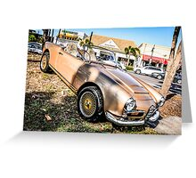 1954 Alfa Romeo Spider Italian Sports Car  Greeting Card