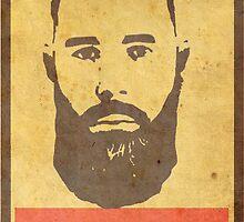 Obey Black Beard by BlackBeard Apparel / Custom Designs