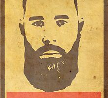 Obey Black Beard by BlackBeard Apparel