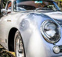 1956 Porsche 356A 1600s Speedster German Sports Car by Chris L Smith