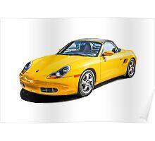 Porsche Boxster s German Sports Car  Poster