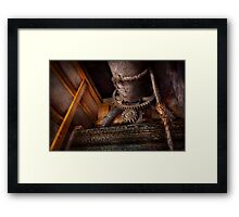 Steampunk - Gear - Out of order  Framed Print