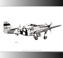 P-51 Mustang by Trenton Hill