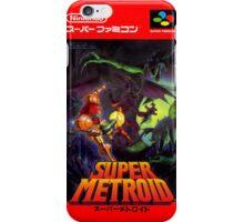 Super Metroid Nintendo Super Famicom Japanese Box Art Shirt (SNES) iPhone Case/Skin