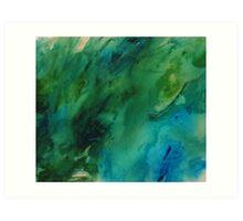 The Under Water treasure Art Print