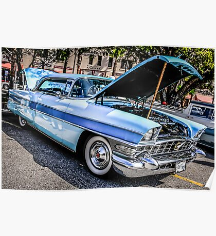 1956 Packard Executive American Classic Car Poster