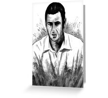 DARK COMEDIANS: Adam Sandler Greeting Card