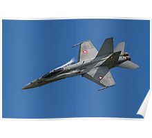 McDonnell Douglas F/A-18C Hornet J-5014 Poster