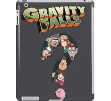 gravity falls iPad Case/Skin