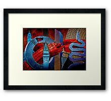 Sculpture City Framed Print