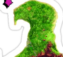 Monkey Island Map Retro DOS game fan shirt Sticker