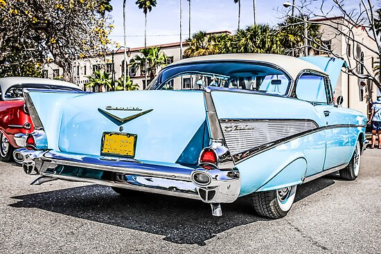 1953 Chevrolet Bel Air Classic American Car by chris-csfotobiz