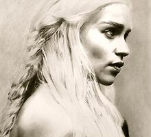 Daenerys Targaryen - Game of Thrones by John Hinds