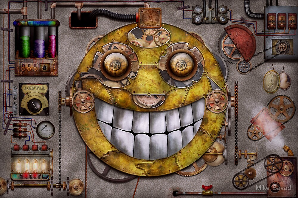Steampunk - The joy of technology by Mike  Savad