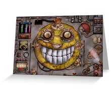 Steampunk - The joy of technology Greeting Card