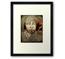 Common Framed Print