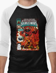 Samus Wars Men's Baseball ¾ T-Shirt