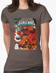 Samus Wars Womens Fitted T-Shirt