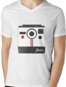 Focus Mens V-Neck T-Shirt