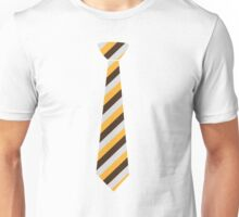 Tricolored Tie Unisex T-Shirt