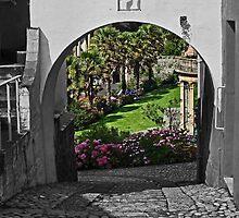 Italianate Garden by Yampimon