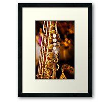Music - Sax - Sweet jazz  Framed Print