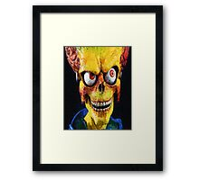 Evil Martian Framed Print