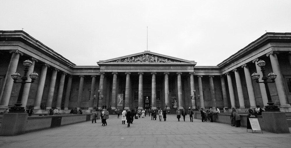 British Museum London by lanesloo