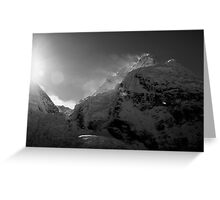 Sunrise from Everest Base Camp Greeting Card